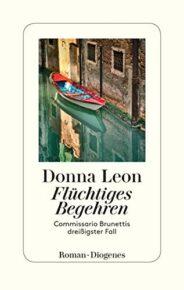 Brunetti-Bücher von Donna Leon